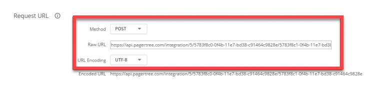 Request URL Settings