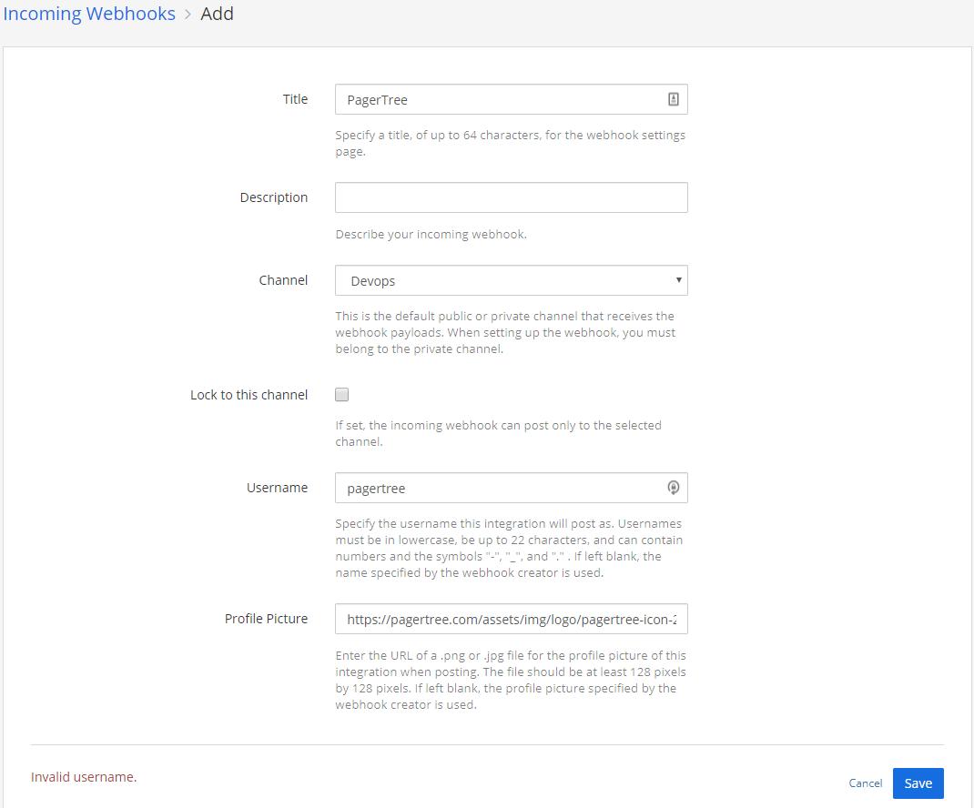 Configure Webhook