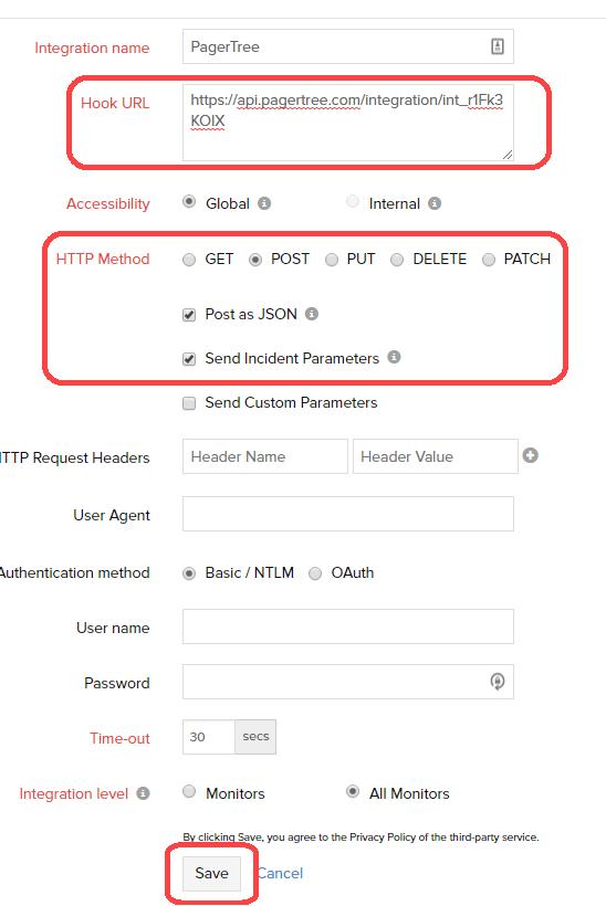 Configure Webhook Settings
