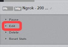 Click Edit Monitor