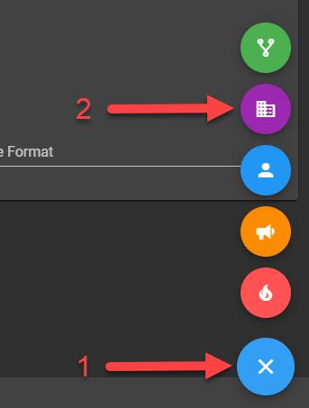 Create Team Button