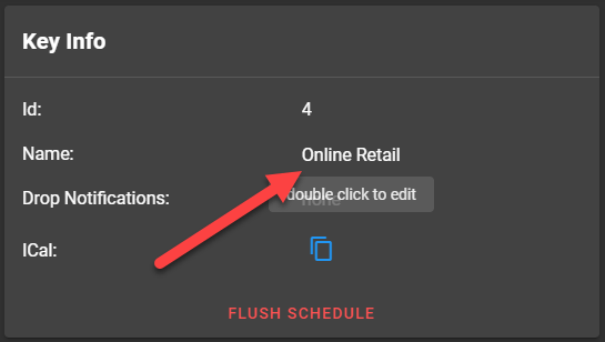 Double Click to Edit